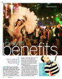 Feature article - Fringe benefits