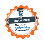 Endorsed by The Clever Copywriting Community